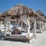 Day Beds on the beach...divine