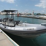 Ocean Force Adventures Boat