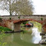 le canal du midi proche de Donneville