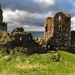 This fantastic castle Sinclair Girnigoe, home of the Sinclairs is only a short drive from b&b