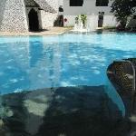 the quiet pool.