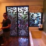 big enough bath? terrace & outdoor shower!