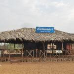 Calamari beach shack..Our bad luck it was closed coz of season end