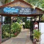 Entereance of this lovely resort