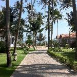 Landscape of resort