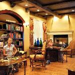 The Wine Bar's Library