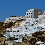 view of oia from our balcony