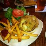 Colossal crabcake sandwich