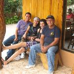 with Juan and Alvaro Sr.