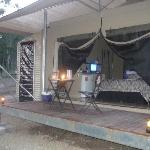 tent/cabin