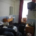 Unser Zimmer im Langland Hotel