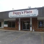 Outside view of Peggy's