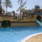 Pirateship watersilde