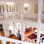 Salle de billard et bibliothèque