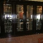 The Wine cabinet at Hacienda Guadalupe