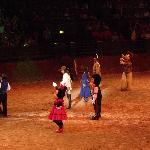 Minnie & Mickey at Buffalo Bill's Wild West Show
