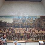 Large Painting of Venetian Sites