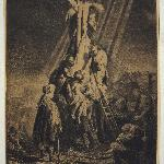 Rembrant made this etching in 1633.
