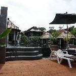 pool and massage area