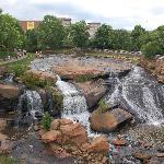 Falls from bridge