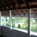 Open verandah overlooking the garden
