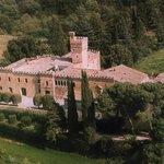 Il Castello di Palazzo di piero - Vista aerea