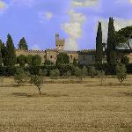 Il Castello dalla valle