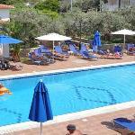 Hotel Andreas swimming pool Agistri