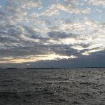 Beautiful sky before sunset