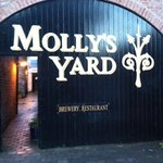 Entrance to Molly's Yard