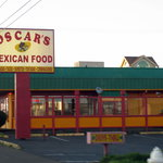 Newport, Oregon - Super Oscar's Mexican Food - easy to find on Hwy 101!