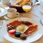 A Full Irish Breakfast