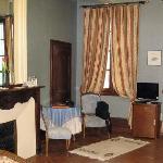 Chambre du marquis côté fenêtre