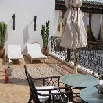 Une des terrasses
