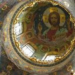 Mosaic also in dome