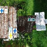 Burgruine Leienfels - Wegweiser für Wandertouren