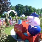 Peppa Pig world train