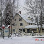 Winter View of Shaker Farm B&B