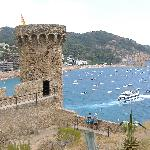 Castle in Tossa De Mar -very quaint