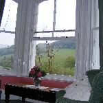 View from the bed - Snowdon Room