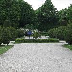 Schonbrunn garden