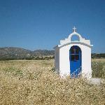 chapelle découverte lors d'une balade en quad