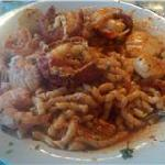 Seafood pasta note 3 lobster tails
