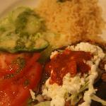 My husband had the Huarache de Chorizo. As good as it looks.