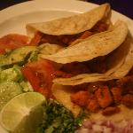 "I had the Tacos al Pastor. Fresh. Delicious. Not heavy like most ""Mexican"" restaurants. Deeeee-l"