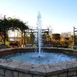 Brunnen im Boswell Family Garden