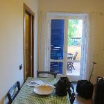 Apt 101 - Double glazed doors and shutters