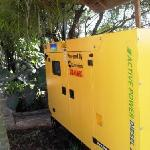 Standby power generator installed May 2011