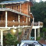 View from the beach- Naturalist Resort