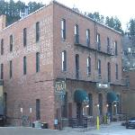 Back of the Bullock Hotel